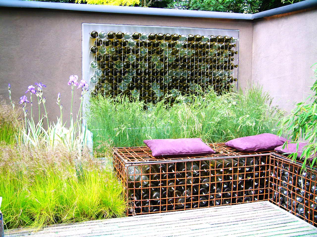 Jardin Sur Une Terrasse 3 - terrace of well-being - feng-shui garden
